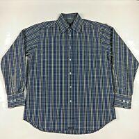 Ted Baker London Mens Designer Long Sleeve Button Down Plaid Shirt  Size 2 EUC