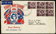 1947 AUSTRALIA 1d Princess (5) FDC