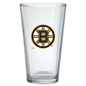 Boston Bruins 16oz. NHL Pint Glass Tumbler
