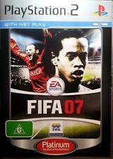 PS2 FIFA 07 FREE POSTAGE WITHIN AUSTRALIA
