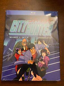 City Hunter First TV Series Blu Ray Discotek Media Official Anime Episodes 27-51