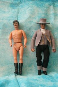 Marx Ted Dawson no clothes and Lone Ranger action figure