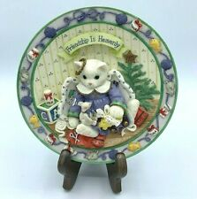 Priscilla Hillman Collector plate,( friendship is heavenly) Calico Kittens