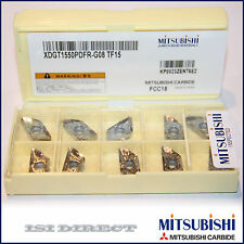 XDGT 1550PDFR -G08 TF15 MITSUBISHI *** 10 INSERTS *** FACTORY PACK ***