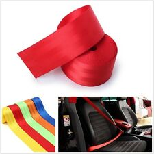 Universal Car RED Racing Front 3 Point Safety Retractable Van Car Seat Lap Belt