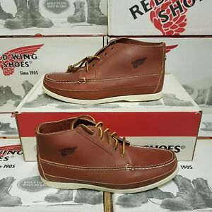 RED WING SHOES 9136 Chukka men's leather boots UK 6 US 7 EUR 39,5 (NEUF)
