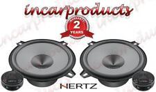"Hertz UNO K130 5.25"" 13cm Component 2 Way Car Van Stereo Speaker Set Pair 220w"