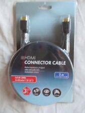 Connector Cable Full HD 1080p Gold Plated Contacts - HDMI 2 Meters
