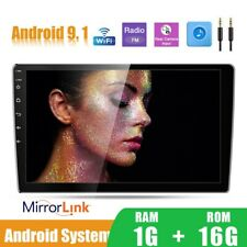 10inch Android 9.1 Car Mp5 Player Radio Stereo 2 Din HD Touch Screen Video WIFI