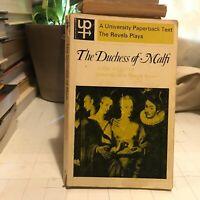 the duchess of malfi drama theatre play john webster pb up263 uk '69 book