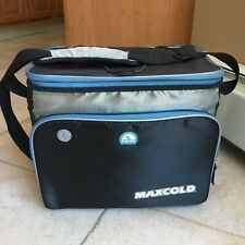 Igloo Maxcold Hard Liner Cooler 24 Can Bag Lots Of Pockets Hard To Find Retired!