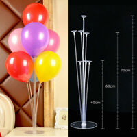 Clear Balloon Column Upright Balloons Display Stand Wedding Party Decor UK VI