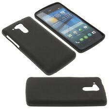 Tasche für Acer Liquid E700 Handytasche Schutz Hülle TPU Gummi Case Schwarz