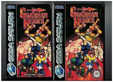 Sega Saturn GUARDIAN HEROES Complete Good/very Good   inc Manual