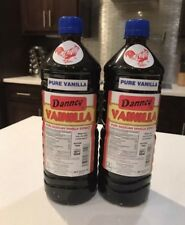 Mexican Danncy Pure Vanilla Extract Dark Lot Of 2 (1L/32oz EACH BOTTLE)