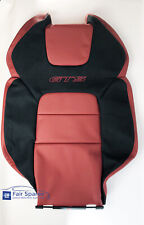 NOS HSV VE GTS RHF Leather Seat Back Cover Trim in Red Hot Colour with GTS Logo
