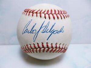 Carlos Delgado Signed MLB Official League Rawlings Baseball W/ COA