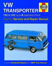 HAYNES SERVICE & REPAIR MANUAL VW Transporter  Petrol (82 - 90) up to H