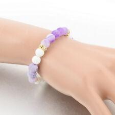 Jewelry Bracelet Beaded Crystal Stone Balancing Handmade Grounding Yoga