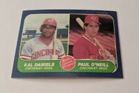 1986 Fleer #646 Paul O'Neill/Kal Daniels RC NM-M Cincinnati Reds 261