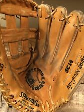 "Spalding Sc14 Baseball/Softball Glove 14"" Rht Competition Series ~ Pre-Owned Exc"