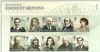 GB Presentation Pack 432 2009 Eminent Britons