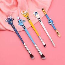 5pcs/set Lilo and Stitch Cosplay Makeup Brushes Set Cosmetic Brush Tool gift