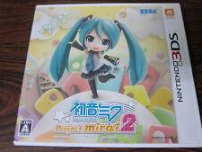 Used Game Nintendo 3DS Hatune Miku Project mirai 2 Japan Import