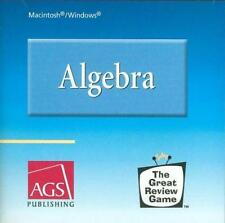 Algebra: The Great Review Game PC MAC CD math reinforcement text-based practice!