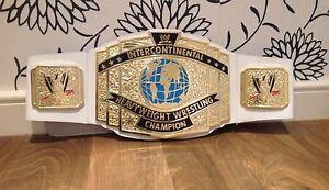 TOY WWE WWF CLASSIC INTERCONTINENTAL CHAMPIONSHIP WRESTLING BELT HOGAN Rollins
