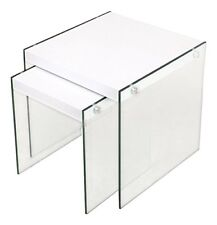 Cribel Pocket scrivania legno Multistrato/vetro Temperato laccato Bianco (tpd)