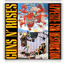 GUNS N ROSES APPETITE FOR DESTRUCTION LP COVER FRIDGE MAGNET IMAN NEVERA