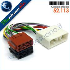 Cavo adattatore ISO autoradio Chevrolet Spark (M300 2009-2011) no active system