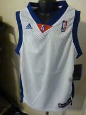 Adidas NBA Los Angeles Clippers White Blank Youth Swingman Jersey NWT XL
