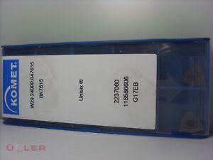10X KOMET W29 24000.047615 BK7615 WENDESCHNEIDPLATTEN CARBIDE INSERTS