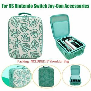 Travel Carrying Case for Nintendo Switch Animal Crossing Protective Storage Bag
