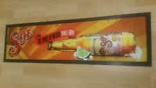 Sol Mexican Beer Bar Mat Runner Rubber Backed, Jim Beam, Jack Daniels