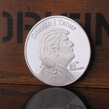 New President Donald Trump Inaugural Silver White House Commemorative Coin UK