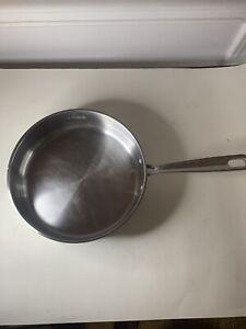 Emeril Stainless Steel Saute Pan Copper Core 3 Qt Quart 10 inch