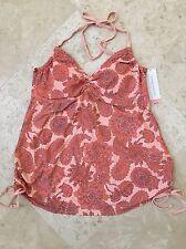 NEW Women's Liz Lange Maternity Swim Tankini Top - Size XL