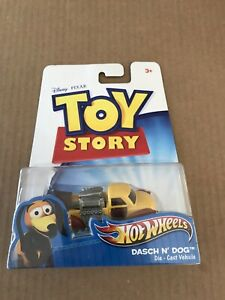 2011 Mattel Disney Pixar Hot Wheels Toy Story DASCH N' DOG Die-Cast Vehicle RARE