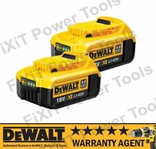 2 X GENUINE DeWALT 18V BATTERY DCB182 N195933 DCB182-XJ XR li-ion 4.0Ah NEW