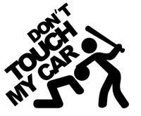 Don´t touch my car vag, jdm dont pegatina aufkleber vinilo, vinyl, 18 colours