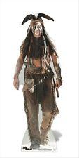 Johnny Depp as Tonto Cardboard Cutout / Figure 176cm Tall Disney The Lone Ranger