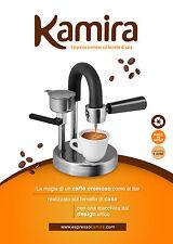 Cremeuse Kamira cafetière à expresso pour la maison, le vrai made in Italy! …