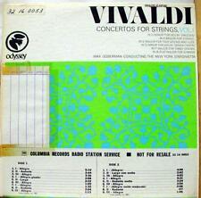 Max Goberman - Vivaldi Concertos For Strings Vol 1 LP VG+ Promo 32 16 0053