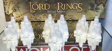 2003 LORD OF THE RINGS MONOPOLY ORIGINAL PARTS: WHITE BUILDING (13)LOT PRE OWNED