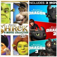 New listing Shrek And How To Train Your Dragon Complete Movies, Hdx Instawatch Digital Only
