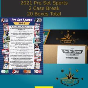 Larry Bird - 2021 (Leaf) Pro Set Sports Hobby 2 Case Break (20 Boxes)