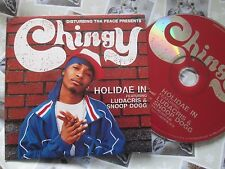 Chingy Feat Ludacris Snoop Dogg Holidae In.  Capitol CHINGY 05 Promo CD Single